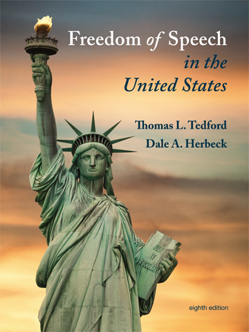 the freedom of speech in the united states Library of court decisions for freedom of speech in the united states part i: historical development chapter 1: freedom of speech in the united states, 8th ed.